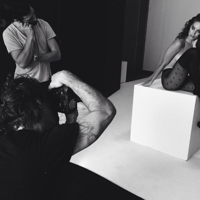 #regram back in the studio with the @calzedonia team. @pier59studios @francescocarrozzini @francogobbi1 @sergehodonou