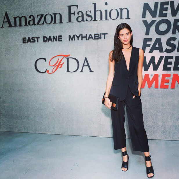 Thank you @cfda @amazonfashion for a fun night. And in love with this @rachel_roy outfit @thelionsny