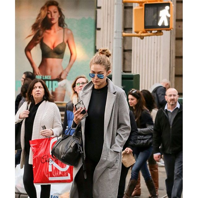 Gigi Hadid, you're officially EVERYWHERE (Photo by Ignat/Bauer-Griffin/GC Images)