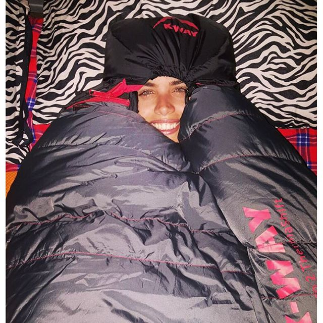 Braving the cold nights in Kilimanjaro #tallestmountaininAfrica #kilimanjaro #5895m