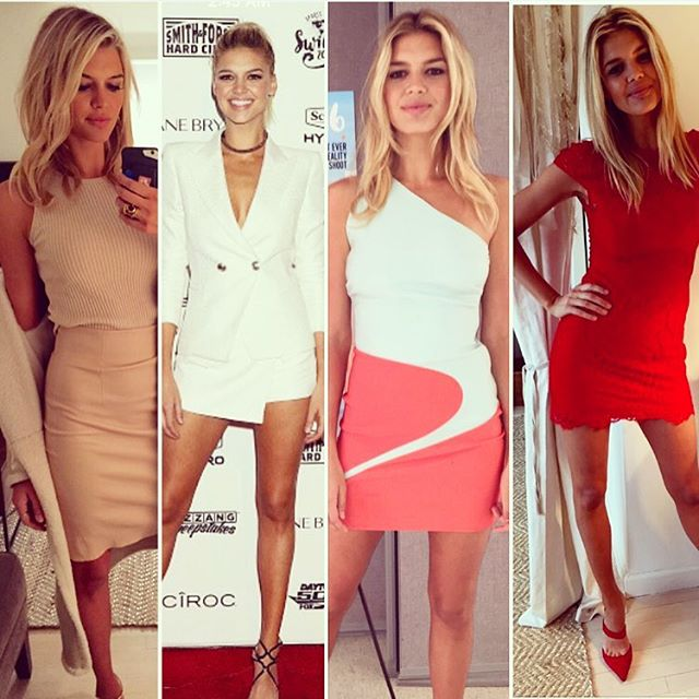 #tbt to @si_swimsuit swim week! @fwrd a HUGE thank you for all my red carpet looks