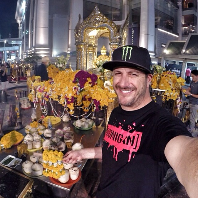 Ken Block helped put rally racing on the map, earning two silver medals at the X Games and second overall in Rally America three times over his nine year career, all while helping to manage the brand he co-founded, DC Shoes. Follow Ken Block on Instagram @kblock43.
