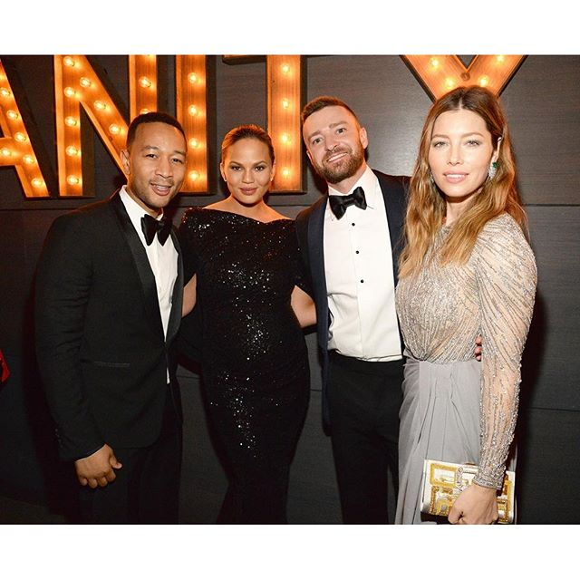 After the party it's the after-party, and the stars really turned out following the #Oscars. To see the hottest photos from last night—like this snap of #JohnLegend, #ChrissyTeigen, #JustinTimberlake, and #JessicaBiel—head to instyle.com now. Link in profile. | photo: @gettyimages