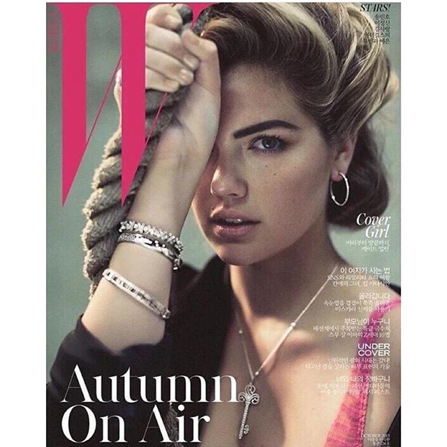 #Wkorea || @wkorea #October Cover Issue Photographer #normanjeanroy @brycescarlett @anyaziourova @yumilee_mua @tiffanyandco