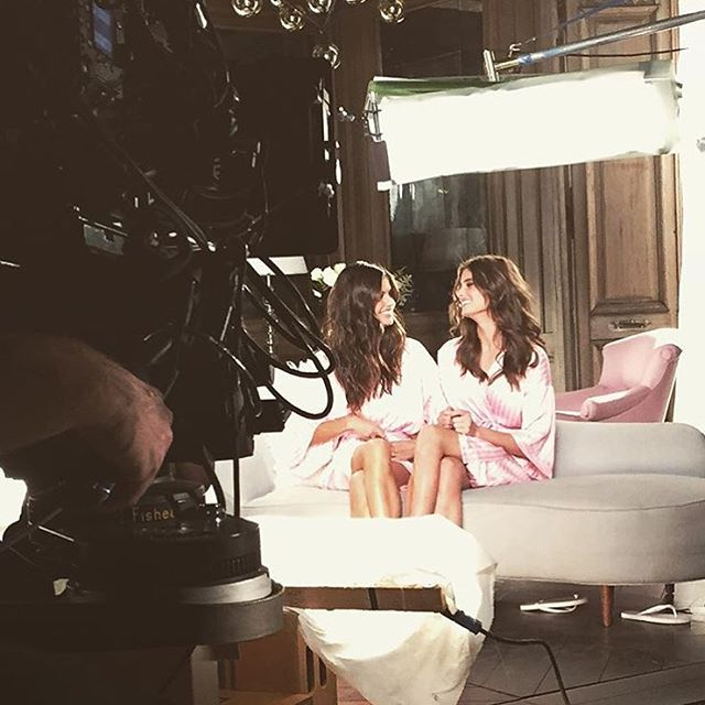 So blessed I get to do what I do with people I truly love and care about! @taylor_hill @victoriassecret #victoriassecret #vsfs2015 #saylor