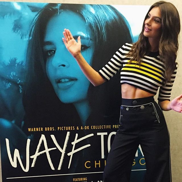 Figurine sold separately. #WAYFTour memories thanks @themarcjacobs @wayfmovie out Friday #aug28