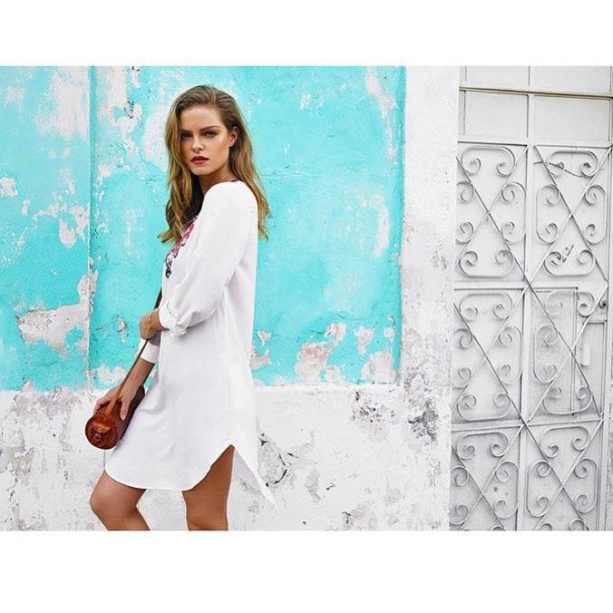For @skyeswimwear campaign shot by @donatphoto. Styling by @ladyrdot and HMU by @jesslablanche #regram
