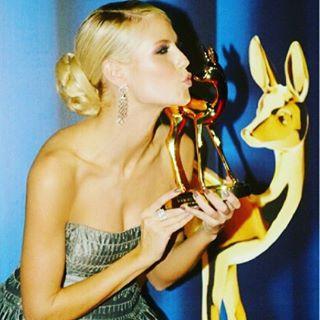 Ich freue mich darauf nächsten Donnerstag meinen zweiten Bambi in den Händen halten zu können! #bambi2015