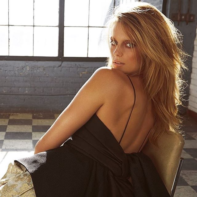 Regram @andrewsoule Beautiful @katelynnebock for @flaremag h&m by @tonymasciangelo