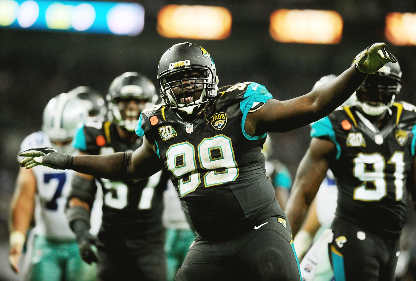 One day, this might be Blake Bortles or Denard Robinson. For now, the honor goes to Sen'Derrick Marks, one of the most unheralded players in the NFL. Marks had 8.5 sacks in 2014 and is becoming one of the more disruptive 4-3 defensive tackles going. Honorable mention: Stefen Wisniewski, Allen Robinson.