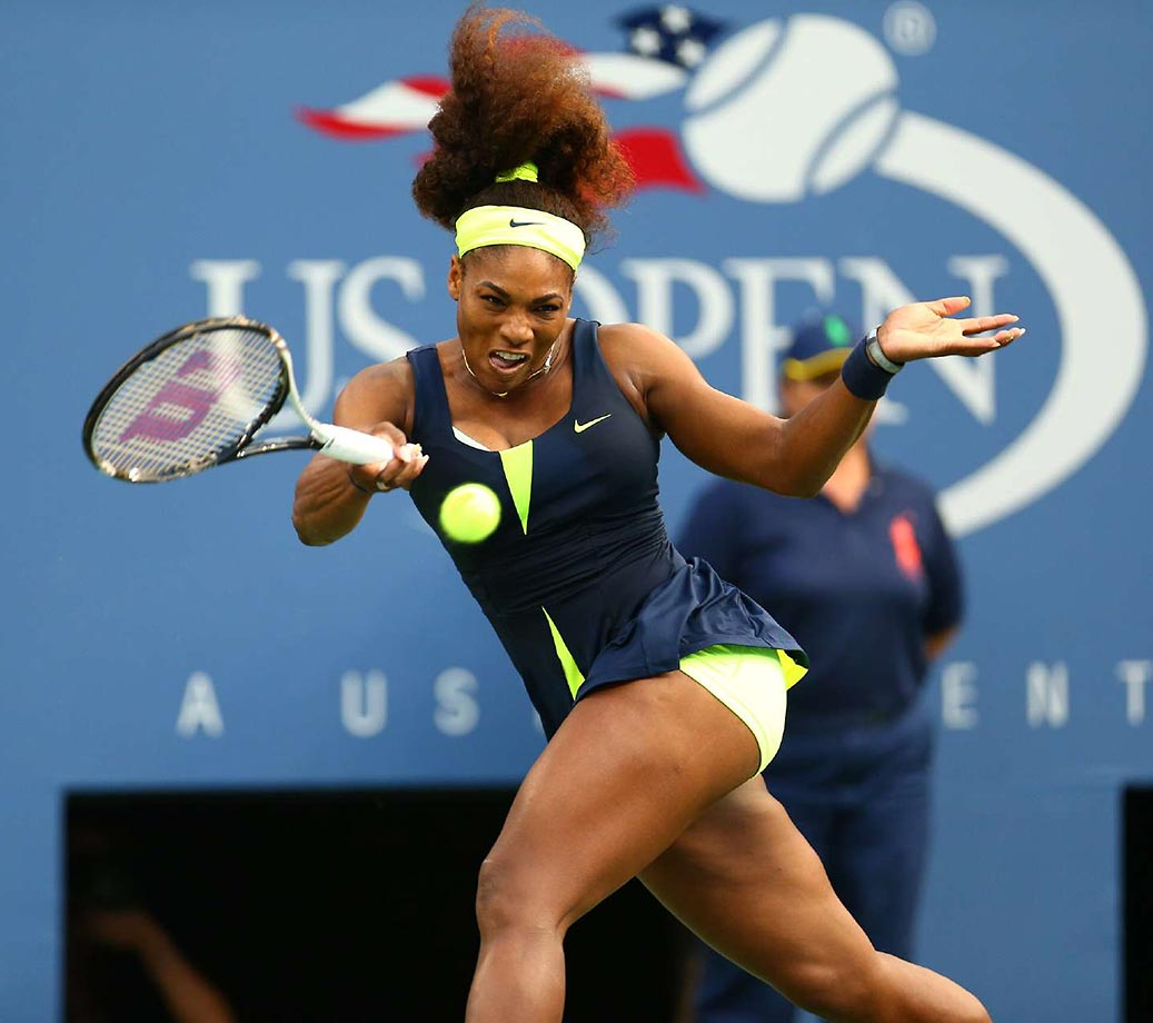 Serena capped off a near undefeated second half of the season by winning her second straight Slam title, 15th overall, beating top-ranked Victoria Azarenka 6-2, 2-6, 7-5 in the final.