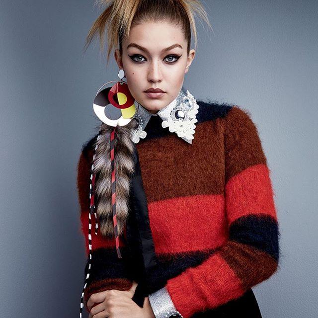 #DavyCrockett-chic. @GigiHadid stars in the latest issue of @Voguemagazine. #IMGirls   Patrick Demarchelier