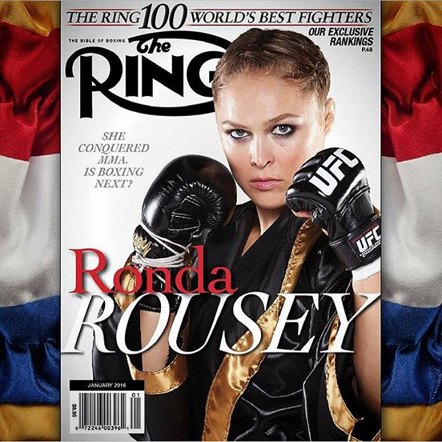 Truly an honor to be the first Mma fighter on the cover of @ringtv