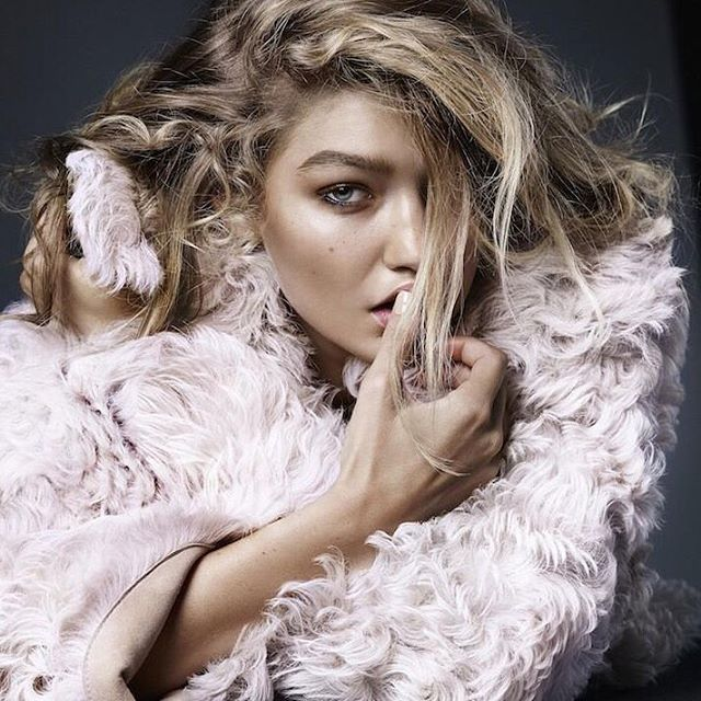 Think pink. @GigiHadid stars in the latest issue of @NLVogue. #IMGirls | @Alique_Photography @MartienVoguenl @BrianBuenaventura_ @MaudLaceppe