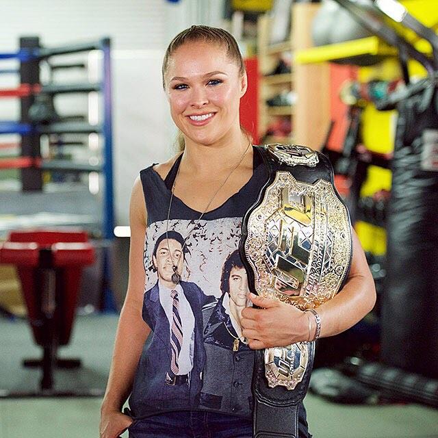 All hail Ronda Rousey! | Earl Gibson III/WireImage