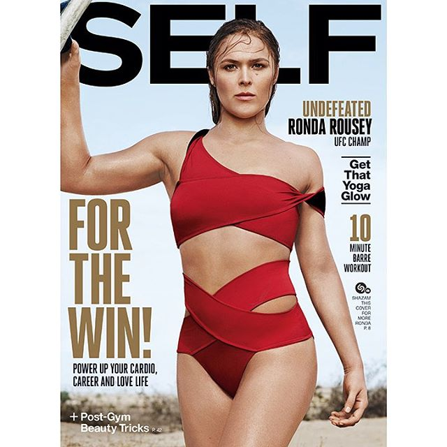 Thank you @selfmagazine for having me on this month's cover!