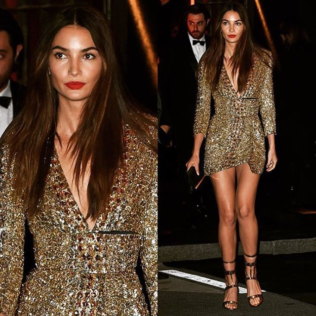 Danced the night away in @alexandrevauthier Thank you @emmanuellealt @vogueparis for the best party