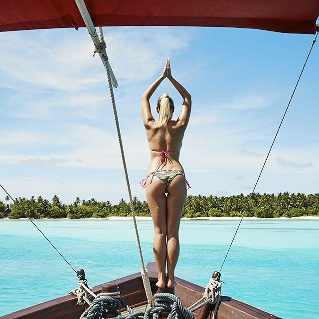 Dreaming to be back in the Maldives at @peraquumniyama -