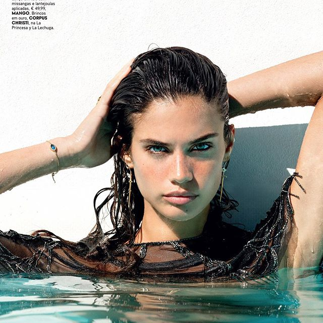 New editorial for @vogueportugal shot by @beli_pinto hair @miguelvianaa make up #cristinagomes styling @paulomacareno (funny fact, this was the same pool where I shot my first vogue cover :) )
