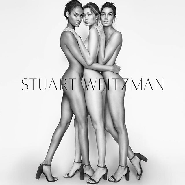 So excited to be a part of the @StuartWeitzman SS16 campaign with @lilyaldridge and @joansmalls - shot by @mariotestino. Best shoes, best team, best day - clearly NOTHING else is needed ;) xx #inourshoes