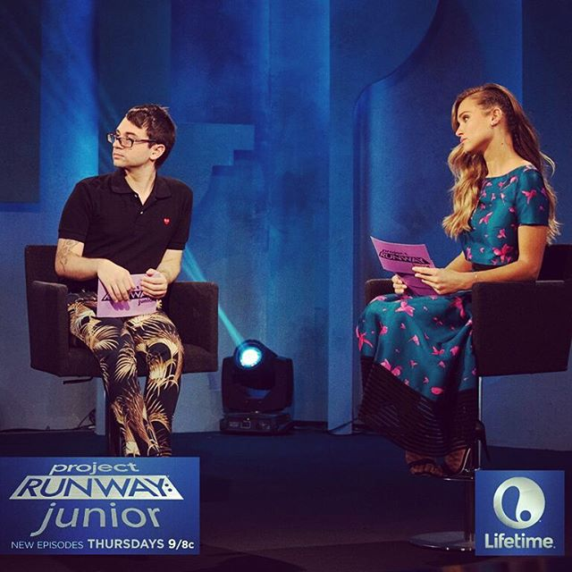 The #ProjectRunwayJunior designers are great alone, but can they make it work together? Find out Tonight at 9/8c on @LifetimeTV!