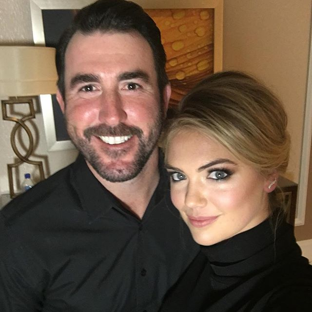 First/last picture of the night.. What happens here stays off Instagram #vegas @justinverlander @beautybysarah