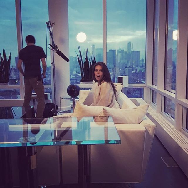 Hello dream home #NYC #MaybellineGirls @maybelline photo by @hilaryshawnhmua