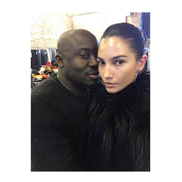 Dream day to start the New Year with the divine @edward_enninful
