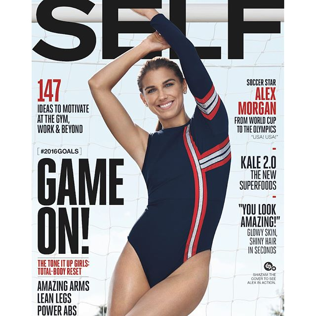 Jan/Feb issue of @selfmagazine is out and I couldn't be more excited for 2016! Thank you @lordjacobofsutton for the great shot!
