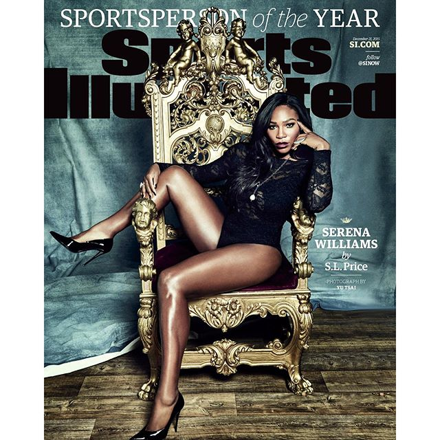 New work #yutsaiphoto The 2015 #SISportsperson of the year is... @serenawilliams @sportsillustrated production @88phases @chercik