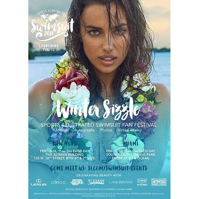 "Always so PROUD to be a part of this iconic magazine! Who's going to be this year's cover girl??? Meet the girls at the #FanFestival in NYC and Miami!!! This beautiful image of the ""QUEEN"" @IrinaShayk was shot by @yutsai88! #Makeup: @allanface #Hair: @jrugg8 Thank you @MJ_Day @Ja_neyney @DarcieBaum! Love and miss you all! #IrinaShayk #SportsIllustrated #SIswim #SISwim2016 #MUA #MakeupArtist #beachbabe #Goddess #allanface"