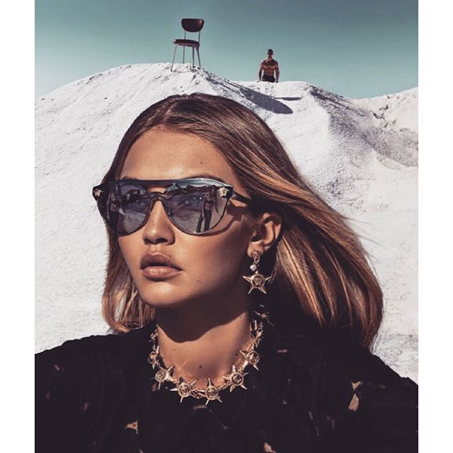 @gigihadid for @versace_official