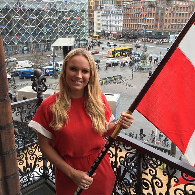 Wow!! What an honor! It has always been a dream and I can't believe it's now a reality!! I was chosen to be the flag bearer for my country at the opening ceremony at the Rio Olympics!! I can't wait! @danmarktilol #Denmark #olympics #rio2016