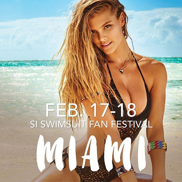 2016 #SISWIM FAN FESTIVAL: Free event featuring models, autographs, photos and virtual reality. Miami: South Beach, Lummus Park, enter at 8th and Ocean from 11 am - 5 pm. Click the link in our bio for more information. See you there!