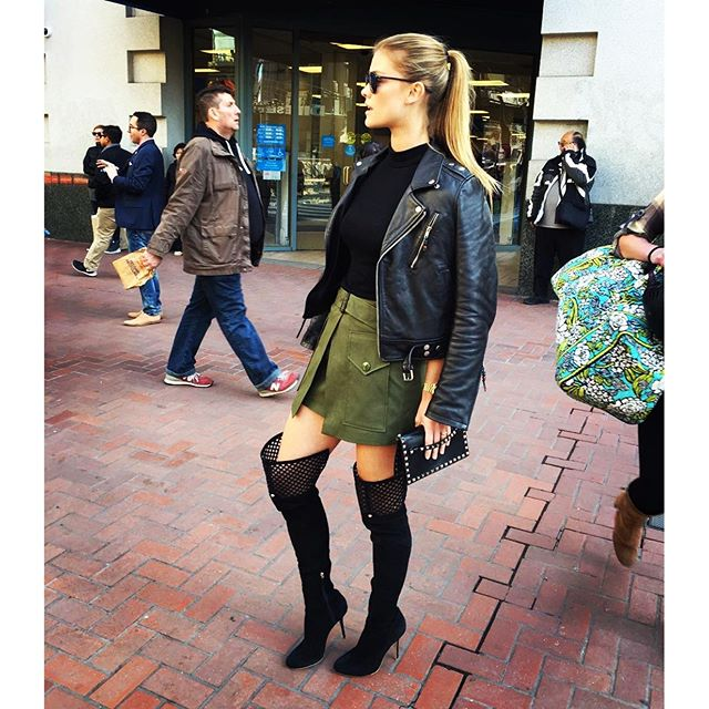 Sup San Fran! These boots were made for walking @cgzeizel @intermixonline