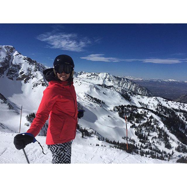 Last day skiing in #Alta #Utah so sad to leave! @burtongirls