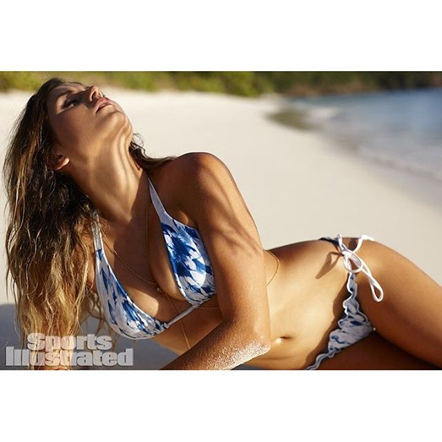 We are having our own countdown to the new SI Swimsuit release next week. Here's our first ever in SI with @anastasiaashley #siswim #bikini #model #bikinis #swim #surf #fashion #fierce