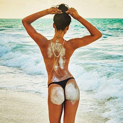 @chaneliman lights up the beach for photographer @ruvenafanador @si_swimsuit 2016 @mj_day @darciebaum #hair @peterbutlerhair #bodyart & #makeupbyme #SISWIM #swimsuit #CharlieSwimwear #ChanelIman #KichangaLodge #Zanzibar #Tanzania #EastAfrica #makeup #josiemarancosmetics #mua #JoanneGair