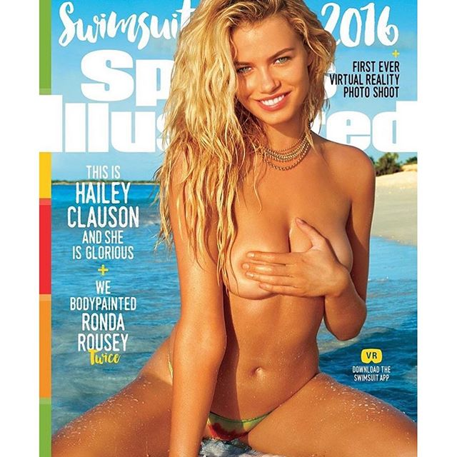 Happy 21st Birthday to @si_swimsuit cover model @haileyclauson heart We can't wait to see what this year has in store for you! #siswim (@jamesmacari // @lavidaloha)