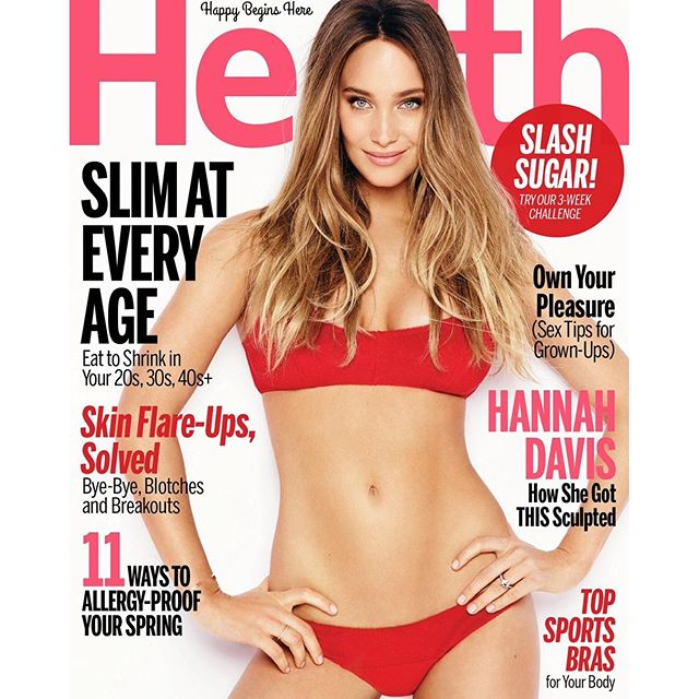 This month's healthmagazine cover