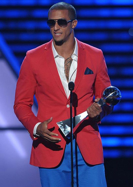 Colin Kaepernick :: Getty Images