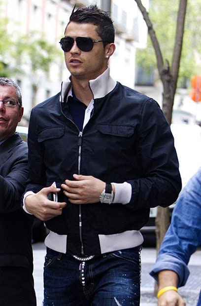 Cristiano Ronaldo :: Getty Images
