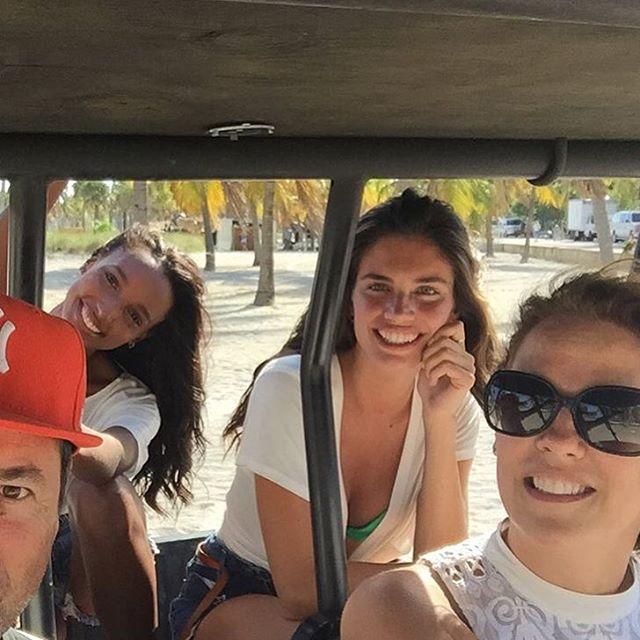 Love our private uber beach Miami @jastookes @ho2go @tinat2 @victoriassecret