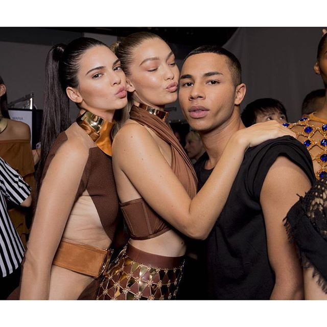 Happy belated bday O Wish I could have celebrated with you last night but I know you had enough fun for the both of us ;) So lucky to call you a friend. #balmainarmy Love you