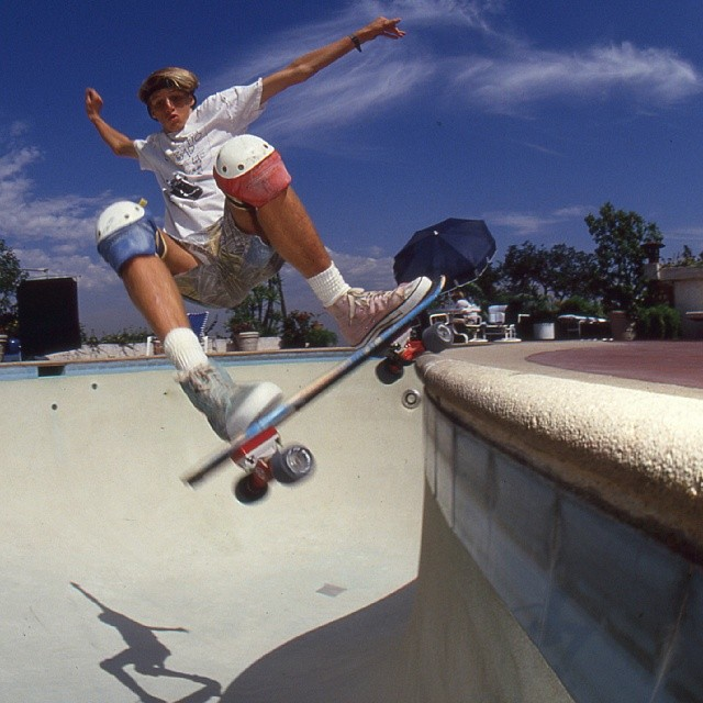 Tony Hawk is a living legend. He's been skating since he was 14 years old and piling up awards ever since. By his mid 20's, he had competed in over 100 contests winning 73 and placing second in 19 of them. Hawk retired in 1999 and began his second career as an entrepreneur with the Tony Hawk's Pro Skater video game franchise. You can follow Hawk on Instagram @tonyhawk.