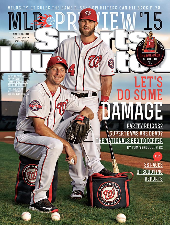 March 30, 2015 | Power is the name of the game in Washington, behind a loaded pitching staff and slugger Bryce Harper, the NL East champs are primed again to make a run in October.