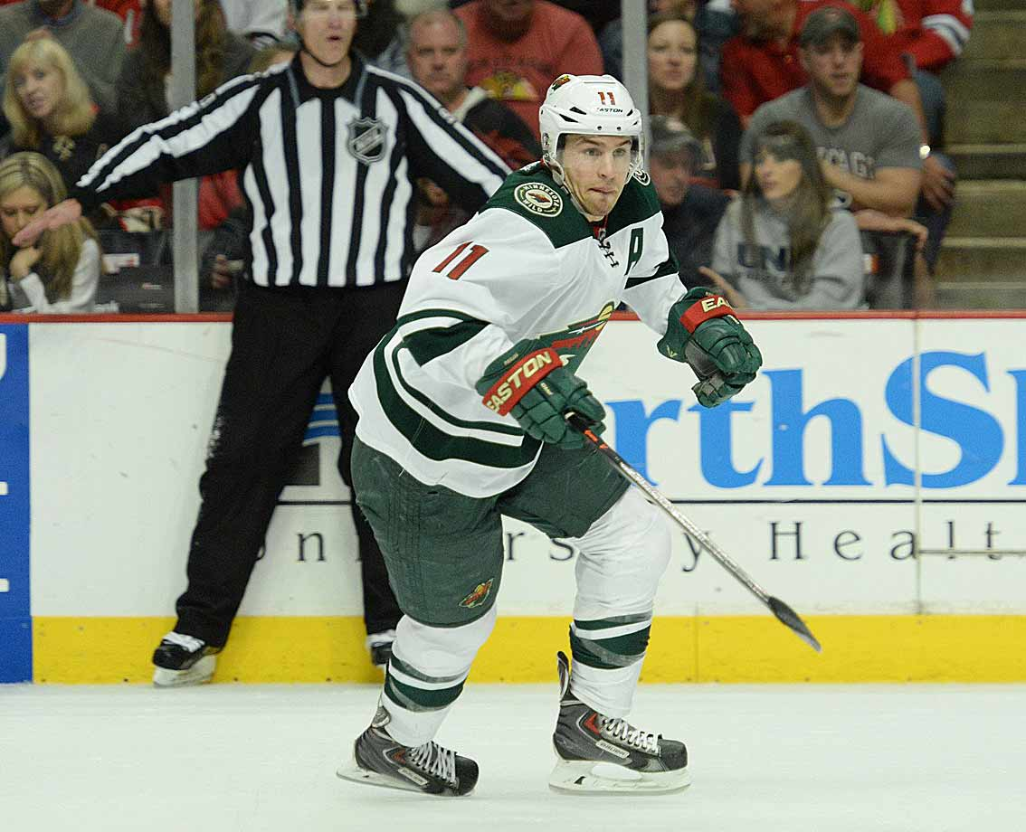 Parise joined the Devils the season after the lockout and later became New Jersey's captain, the team reaching the Stanley Cup Final in 2012. He's topped the 30-goal mark five times, and as a member of Team USA at the 2010 Olympics, he famously scored the tying goal with 24 seconds to play in the third period, sending the gold medal game into overtime before Canada ultimately prevailed. In 2012, he signed a 13-year contract with his hometown Minnesota Wild.