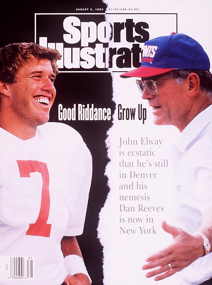 An alleged dispute with franchise QB John Elway contributed to Reeves' exile from Denver after the 1992 season -- despite six playoff berths, five division titles and three Super Bowls appearances in 12 seasons (1981-92). Reeves seamlessly restored the Giants' pluck in 1993, leading a veteran team to a 11-5 record and collecting Coach of the Year honors. The good times in New York, though, were short-lived for Reeves, whose Giants won only 20 games from 1994 to '96.