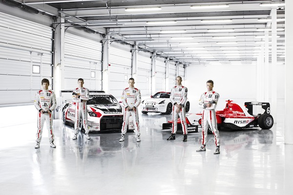GT Academy racers at Silverstone