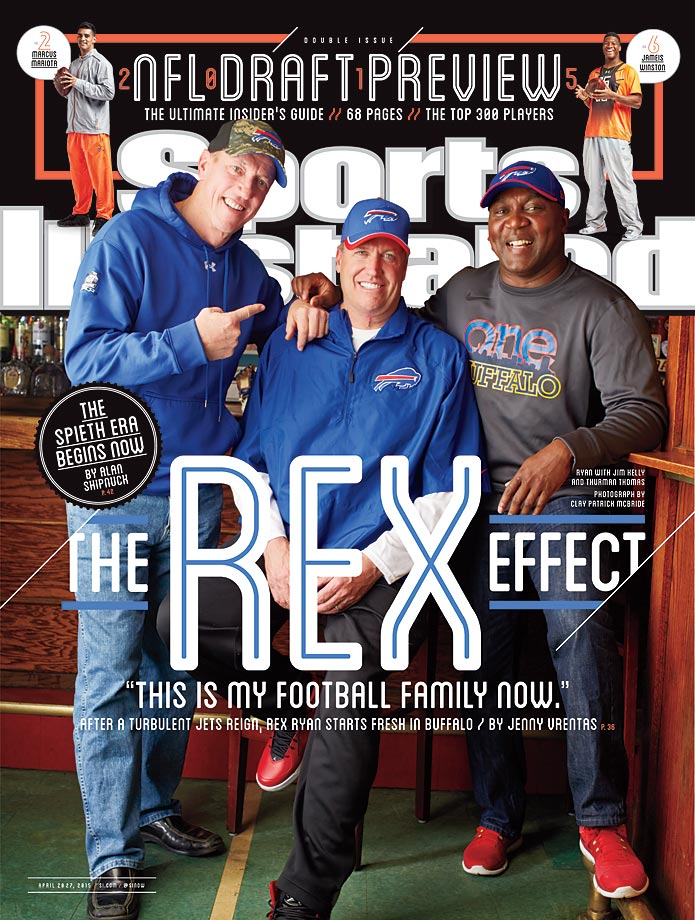 April 20-27, 2015 | The Bills have not been to the playoffs in 15 years, but fans along Rex Ryan, and Pro Football Hall of Famers Jim Kelly and Thurman Thomas are excited for the future.